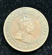 1903 Canada One 1 Cent - Edward Vii Clear Pearls
