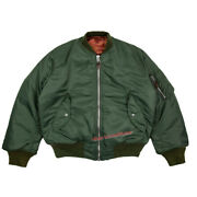 Ma1 Wwii Flight Jacket Mens Military Loose Thick Work Clothes Cotton Padded Coat