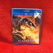 Brand New Gamera Trilogy Blu-ray Rare Out Of Print Factory Sealed
