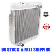 Fit 1960-1966 Ford Mustang /comet /falcon Aluminum Radiator 3 Row 61 62 63 65 64