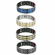 Stainless Steel Magnetic Health Power Therapy Bracelet Chain Link Menand039s Jewelry