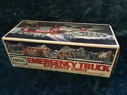 2005 Hess Truck - Emergency Truck With Rescue Vehicle In Box - Fast Free Ship