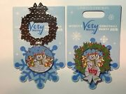 Disney 2018 Mickey Merry Christmas Party Chip And Dale Hinged 3-d Pin Le 5500 New