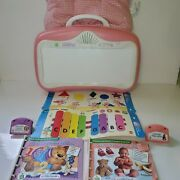 Little Touch Leap Pad Learning System Pink 2 Books And Cartridges
