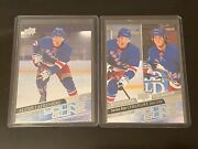 2020-21 Ud Young Guns Alexis Lafreniere Rc And Checklist New York Rangers