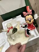 Snowbabies Disney Minnie And Me Skating The Guest Collection Department 56 Ret