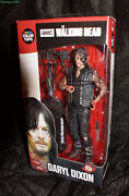The Walking Dead Color Tops Daryl Dixon Figure Signed By Norman Reedus With Coa