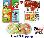 Peanuts Holiday Collection Remastered Deluxe 3 Dvd Set Charlie Brown