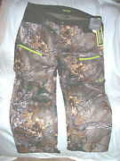 Mens 3x Camo Hunting Pants Scent Control Under Armour Camo Pants Windproof 190