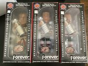 Forever Collectibles New Jersey Devils Stanley Cup Champions Bobbleheads Rare