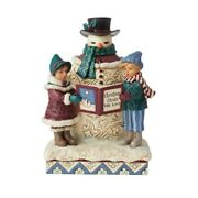 Heartwood Creek Victorian - Snowman And Carolers 6006594