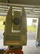 Leica Tca1100 Total Station With Case, Memory Card, Battery And Charger