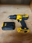 Dewalt 20v Cordless Drill With Battery Dcd 771 With Battery No Charger