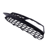 Fit For Audi S3 A3 S-line Front Left Honeycomb Mesh Fog Light Grille Cover New
