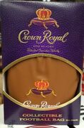 10 Crown Royal Game Day Football Bag --limited Edition--