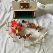 Little People Farm 915 1967 Fisher Price Missing Silo Toy Play Cow Vintage