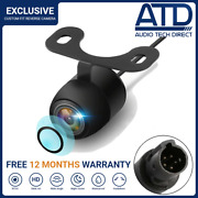 Car Rear View Reverse Camera 5pin 2.5mm Jack Night Vision Universal Backup Wired