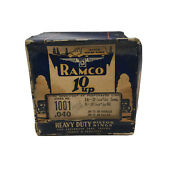 1932-1945 Ford V8 10 Up Ramco Nos Heavy Duty Piston Rings Stock No 1001 .040