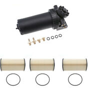 3xfuel Filter W/ Assembly For Marine Outboard Or Truck Diesel Engine 35-60494-1
