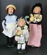 Byers' Choice Ltd. The Carolers The Baker 1995, Lady And Girl Gifts 1997
