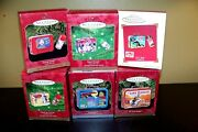 Hallmark Keepsake Ornaments Lunch Boxes Lot Of 6 New In Box