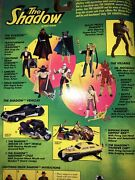Kenner The Shadow 8 Of 9 Action Figures Vintage Collectable