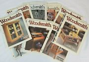 Vintage Woodsmith Magazine Lot Of 9 Woodworking Projects Hobby 90s