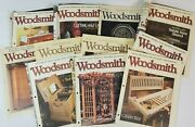 Vintage Woodsmith Magazine Lot Of 11 Woodworking Projects Hobby 90s