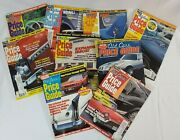 Vtg Old Cars Price Guide Lot Of 9 1999 2000 Automobile Carshop Decor