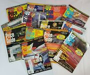 Vtg Old Cars Price Guide Lot Of 13 1996 1997 1998 Automobilia Carshop Decor
