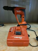Hilti Xbt 4000-a Cordless Drill 1/2 Keyless Chuck Tool Battery And Charger
