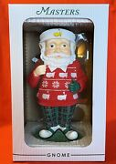 New Limited Edition 2020 Masters Garden Santa Gnome Augusta National