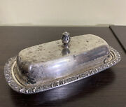 Vintage Oneida Community Silverplate Covered Butter Dish
