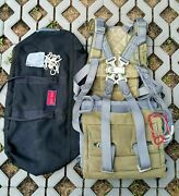 Harness With Parachute S-4 Ejection Seat Aircraft Soviet Army Polish Ts-11 Iskra