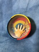 Vintage Round Skill Game Clown Ring Toss, Party Ball Skill Toy, Made In Japan