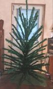 Vintage R.o. Kent 6 1/2and039 Vinyl Christmas Tree. 92 Branches Very Rare