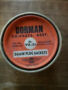 Nice Mix Great Tin Dorman Oil Drain Plug Gaskets Set New For Chevy Olds +