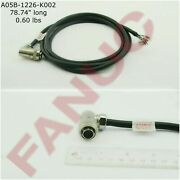Fanuc A05b-1226-k002 Or A05b-1226-k004 20 Pin Connector With Soldered Cable