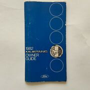 Original 1982 Mustang Owner Guide Ford 176 Pages