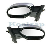 07-14 Suburban And Tahoe Rear View Mirror Power W/signal And Puddle Lamp Set Pair