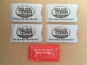 Vintage 1970s Kelly And Cohen Tv And Appliance Centers Advertising Sewing Kits X4