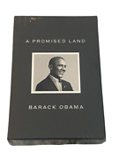 Barack Obama Signed Autograph A Promised Land Book Deluxe Edition In Hand Sealed