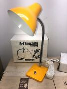 Vintage New Old Stock Yellow Nib Art Specialty Company Desk Lamp 3000 Lmtd Qty