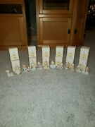 Precious Moments Ornaments 12 Days Of Christmas Complete Set 1-12 Lot