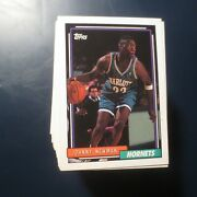 Pick From List 1992-93 Topps Basketball Cards93 Topps Archivesblack Gold+93-94