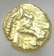 Ancient Ionia Miletus El 1/48th Stater Horse Coin 500 Bc - Certified Ngc Au