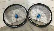 Hed Carbon Fat Wheelset W/ Blue Onyx Hubs