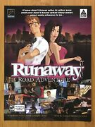 Runaway A Road Adventure Pc 2003 Print Ad/poster Official Authentic Promo Art