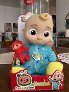 Cocomelon Musical Bedtime Jj Doll With Plush Tummy And Roto Head Ships Fast