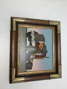 H. Hargrove Oil Painting Print On Canvas Semi Truck Tractor Home Galleries 1984
